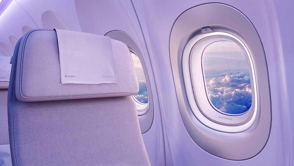 26. А это уже почти реальность! Макет интерьера Airspace by Airbus в мокап-центре в Тулузе: