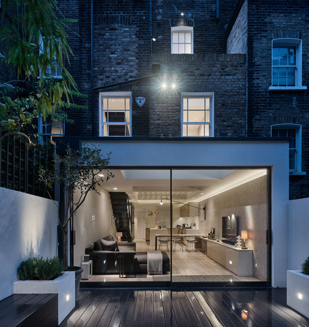 Perf House in London by Andy Martin Architecture