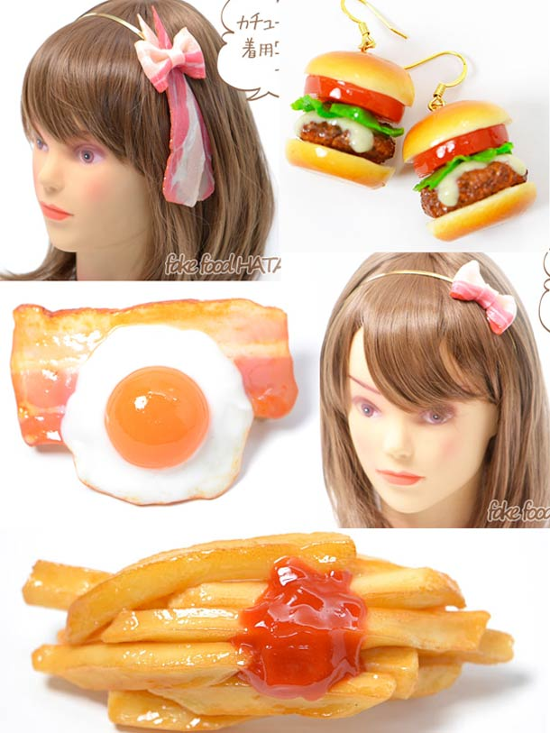 Japan – When Fake Food becomes fashion accessory! (41 pics)