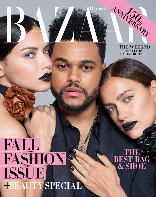 The Weeknd is the Starboy of Harper's Bazaar September 2017 Issue (1 pics)