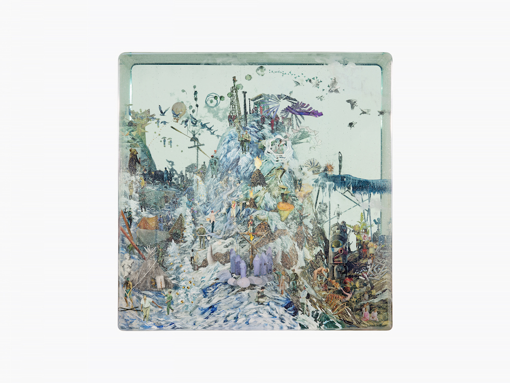 A Surreal Three-Dimensional World Encased in Layers of Glass by Dustin Yellin
