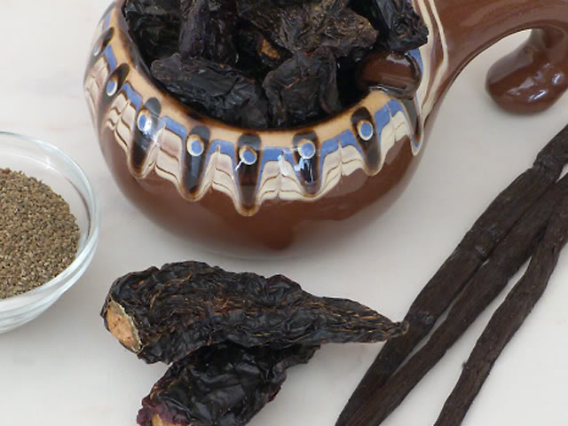Чипотле, ваниль, семена сельдерея. Chipotle, Vanilla, Celery seed