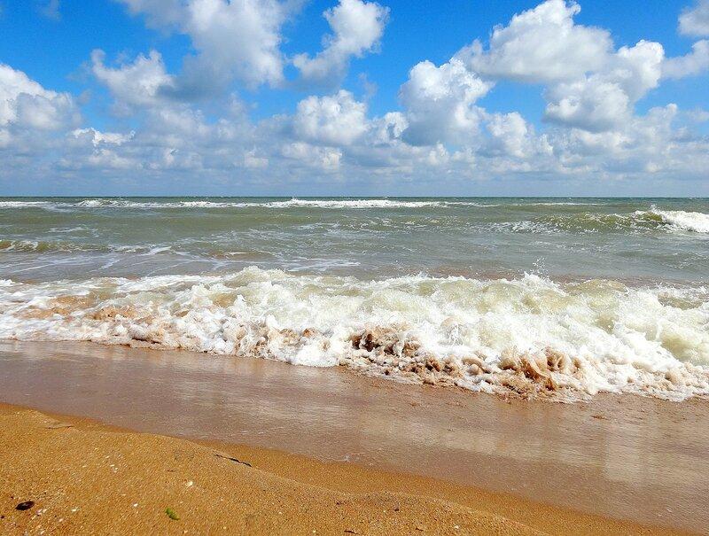 неспокойно Азовское море