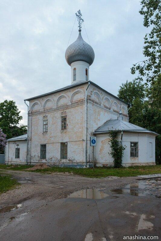 Церковь Ильи Пророка в Каменье, Вологда
