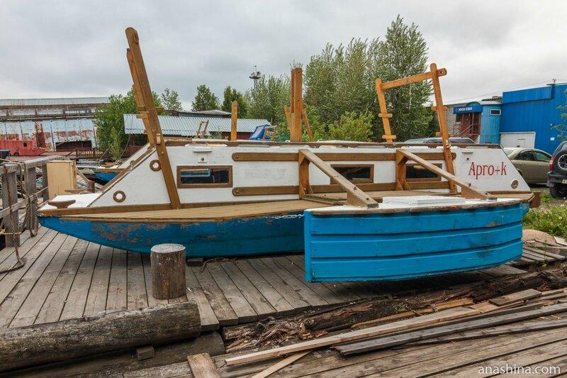"""Маломерное судно для путешествий и отдыха (мини хаусбот), """"Полярный Одиссей"""", Петрозаводск"""