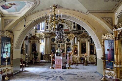 Церковь Космы и Дамиана в Болшево. Интерьер.