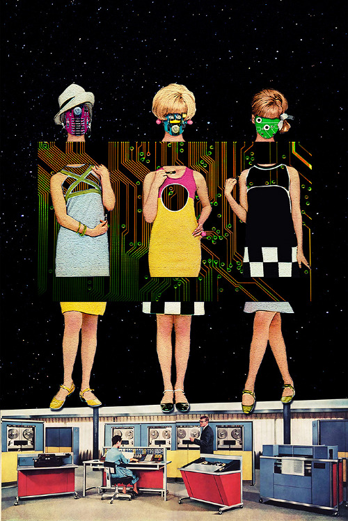 Modern Vintage Collage - Eugenia Loli