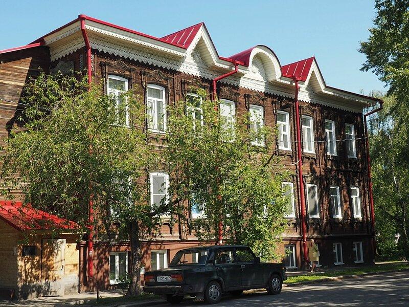 Дом в Томске, Россия (House in Tomsk, Russia)
