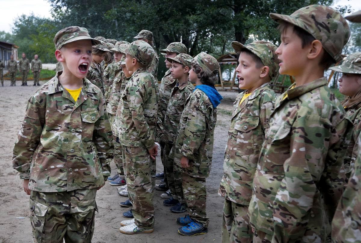 Молчать, я сказал!: Юный украинский капрал