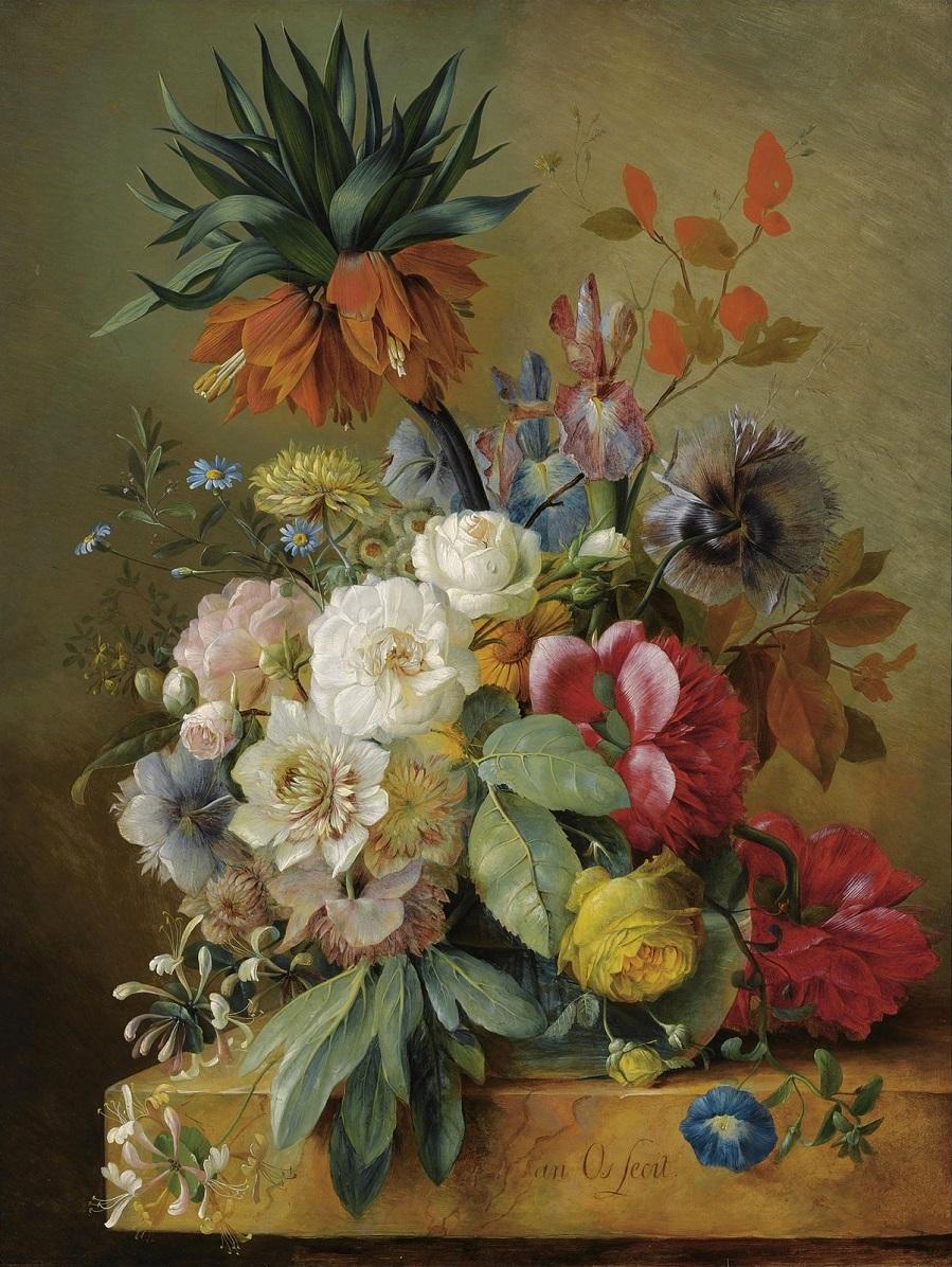 Цветочный натюрморт (A Still Life Of Flowers) Частное собрание.jpg