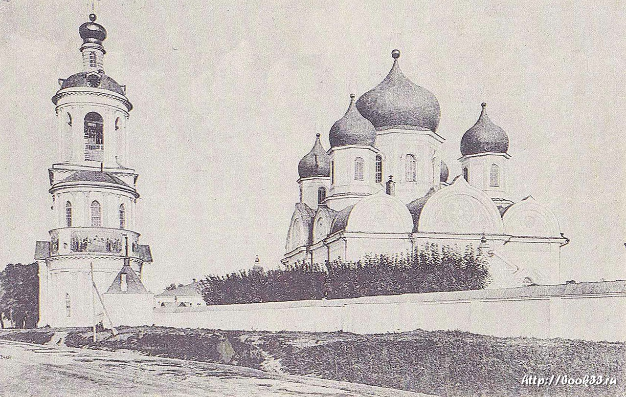 Окрестности Владимира. Село Боголюбово. Боголюбский монастырь