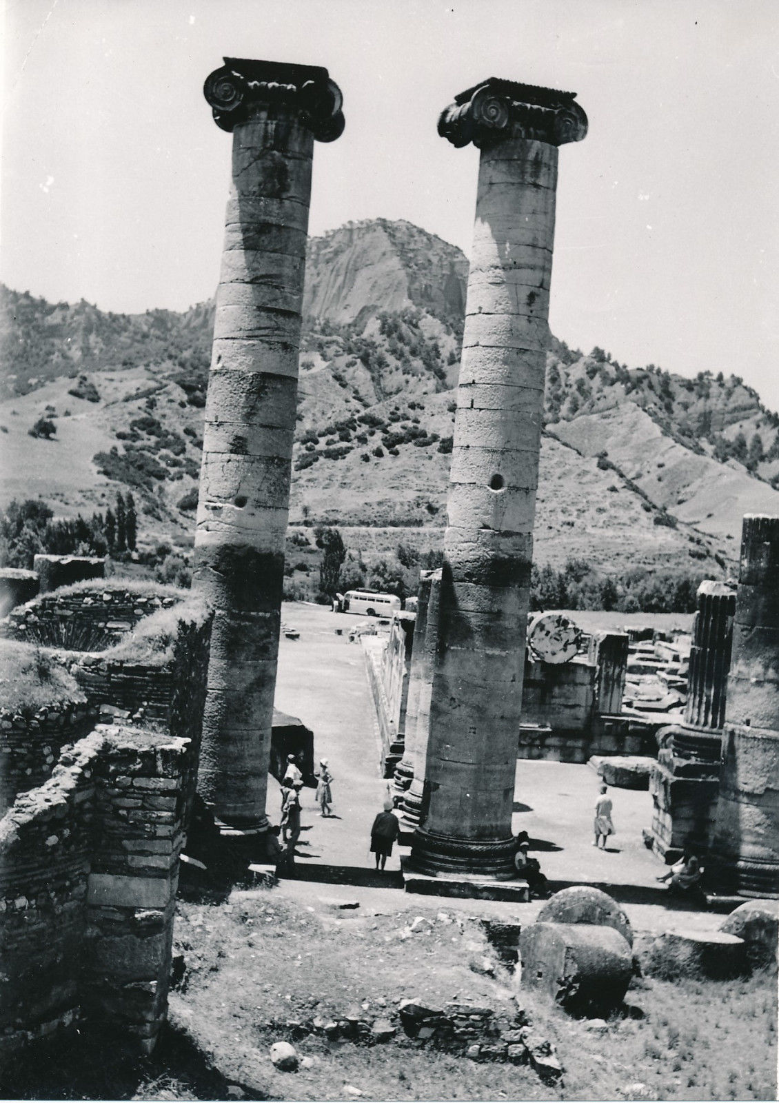 Сарды. Колонны храма Артемиды