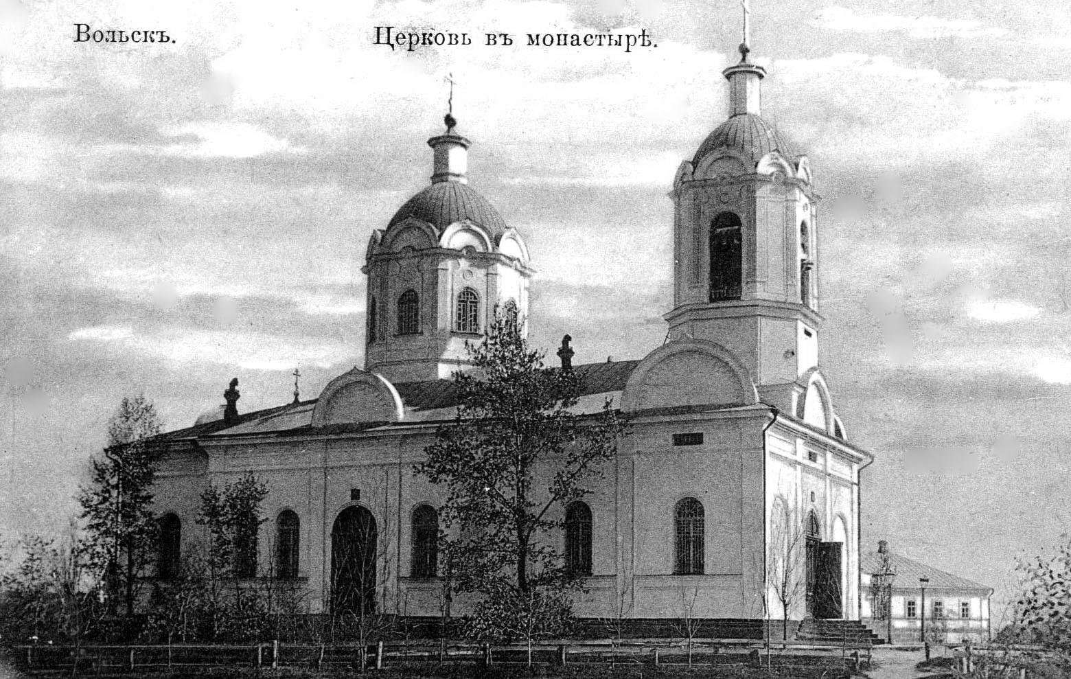 Женский монастырь. Церковь