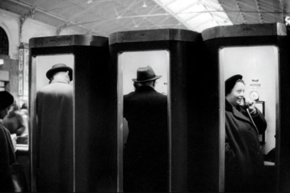 1955. Вокзал Сен-Лазар