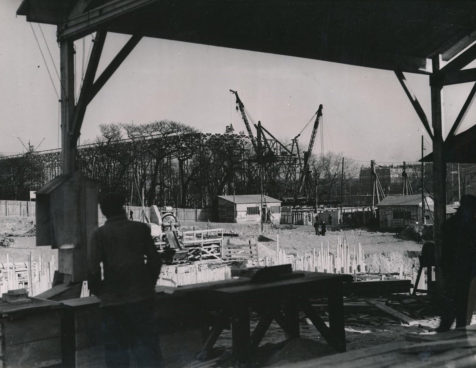 Строительство Выставки