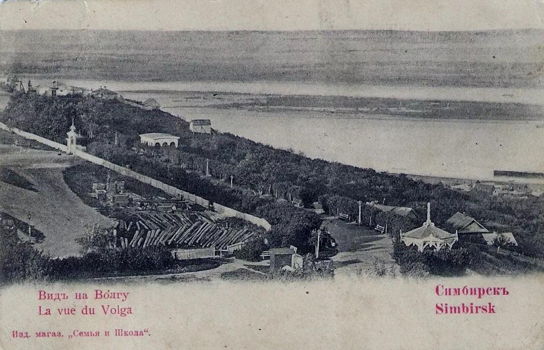 Вид на бульвар Новый Венец с водонапорной башни