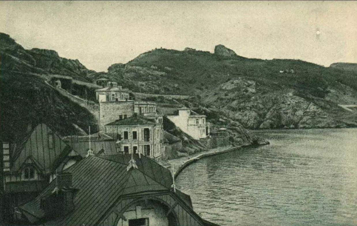 Начало Балаклавской бухты
