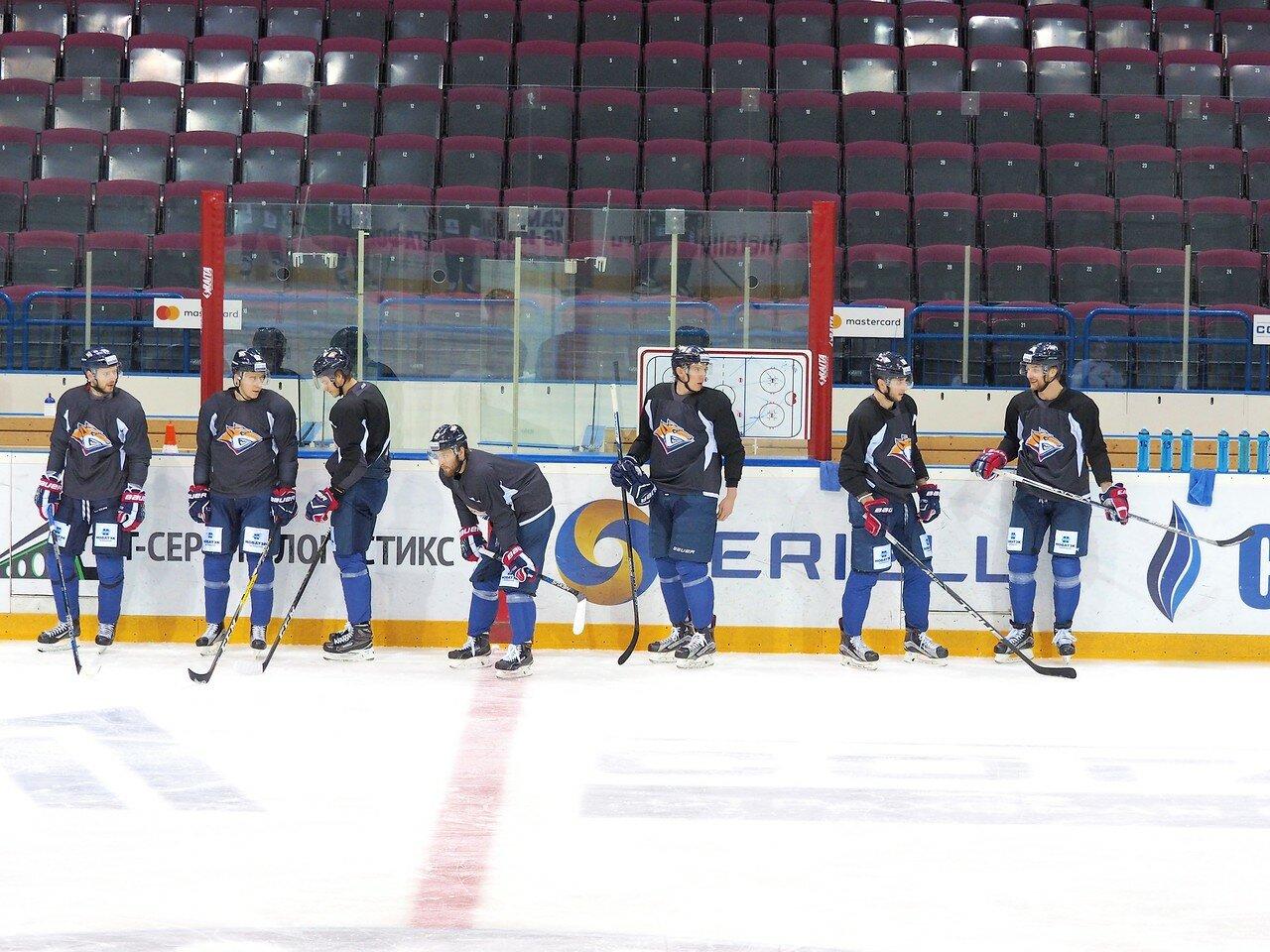 12 Открытая тренировка перед финалом плей-офф восточной конференции КХЛ 2017 22.03.2017