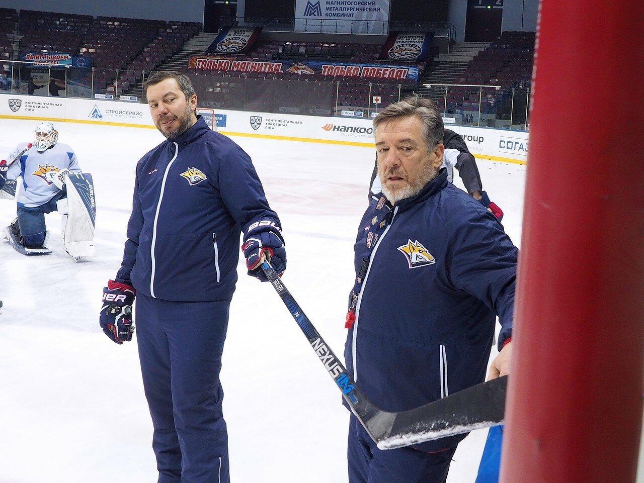 44 Открытая тренировка перед финалом плей-офф восточной конференции КХЛ 2017 22.03.2017