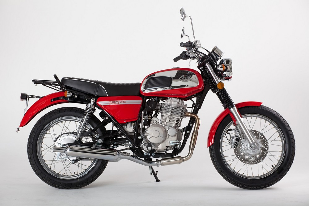 Чехи возобновляют производство легендарного мотоцикла Jawa 350