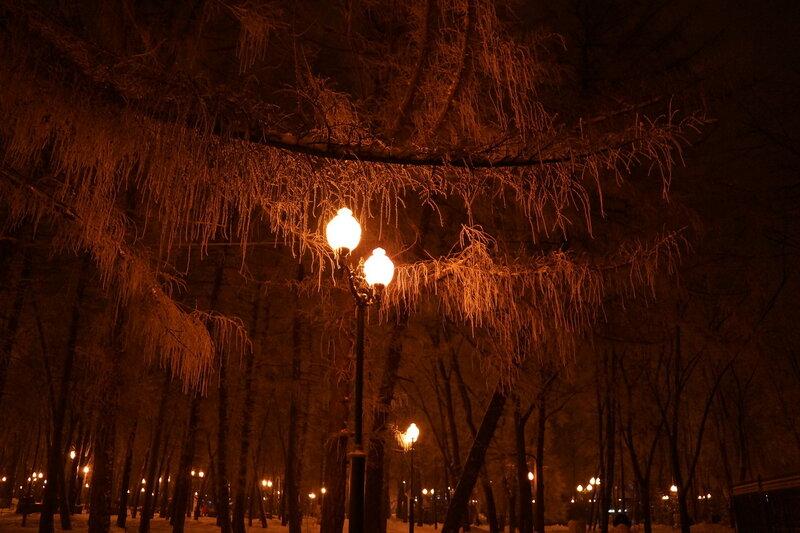 Вечерние фонари