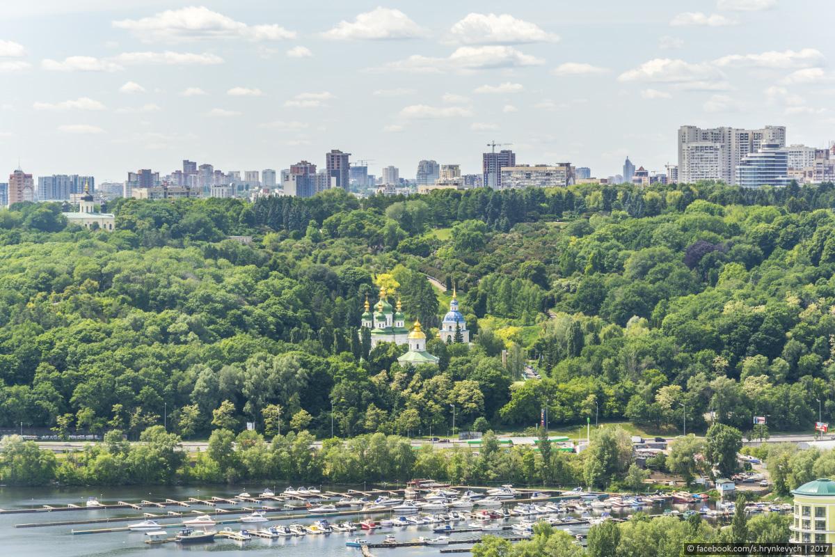 Пролетая над Киевом...