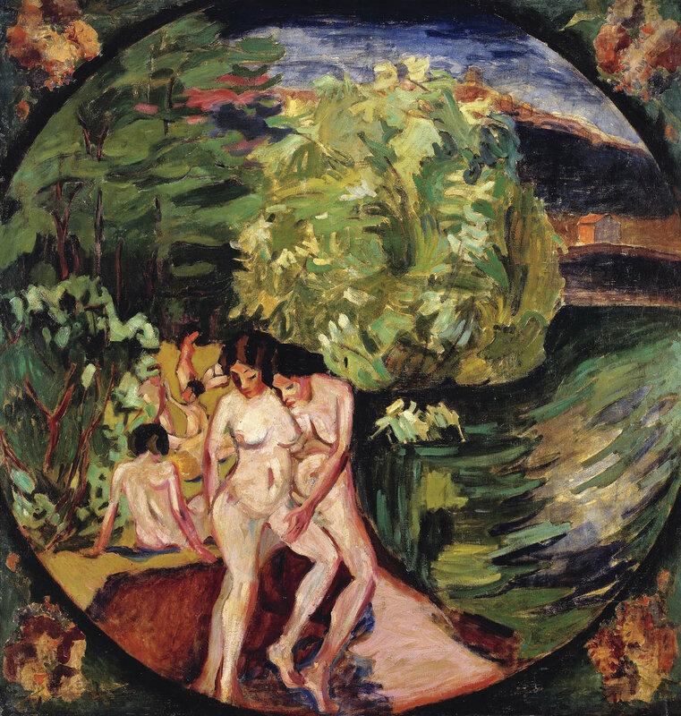 Купальщицы. 1909-1910 год