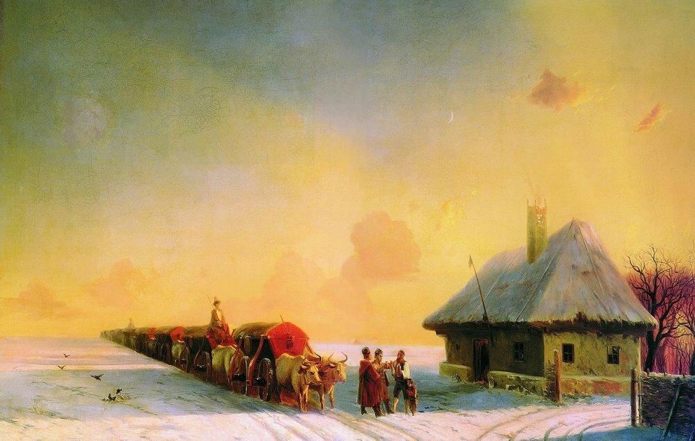 Чумаки в Малороссии 1870-80 гг