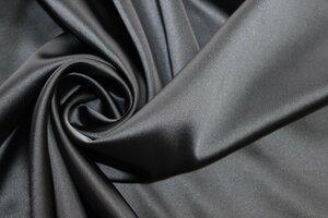 ФТ024 Цена 1400руб-м.Атлас ARMANI(вискоза80%,пэ17%,эл3%)Тяжелый,непрозрачный,эластичный,очень мягкий,очень красиво драпируется.Цвет серый металлик.Для платьев,юбок,брюк,комбинезонов,жакетов и тд.Шир.1,38м. (2).JPG