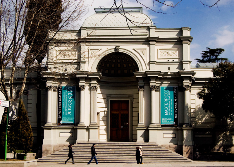 Национальный музей Тбилиси включает целый комплекс музеев