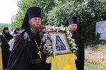 Крестный ход в скит святителя Иоанна Шанхайского