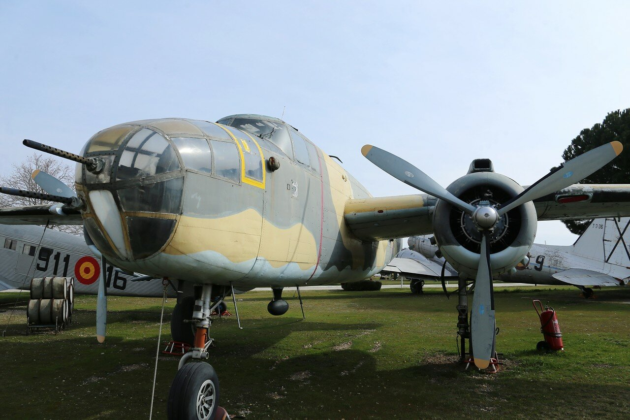 North American B-25 Mitchell (Museo del Aire, Madrid)