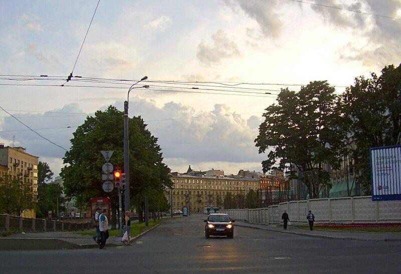 Закат над Карповкой в июле