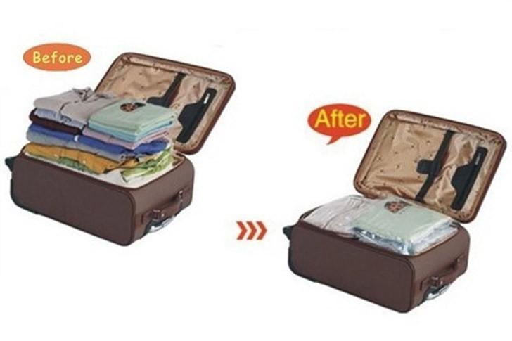 23. Постарайтесь упаковать все вещи в ручную кладь. Вакуумные пакеты неимоверно уменьшат объёмы ваше