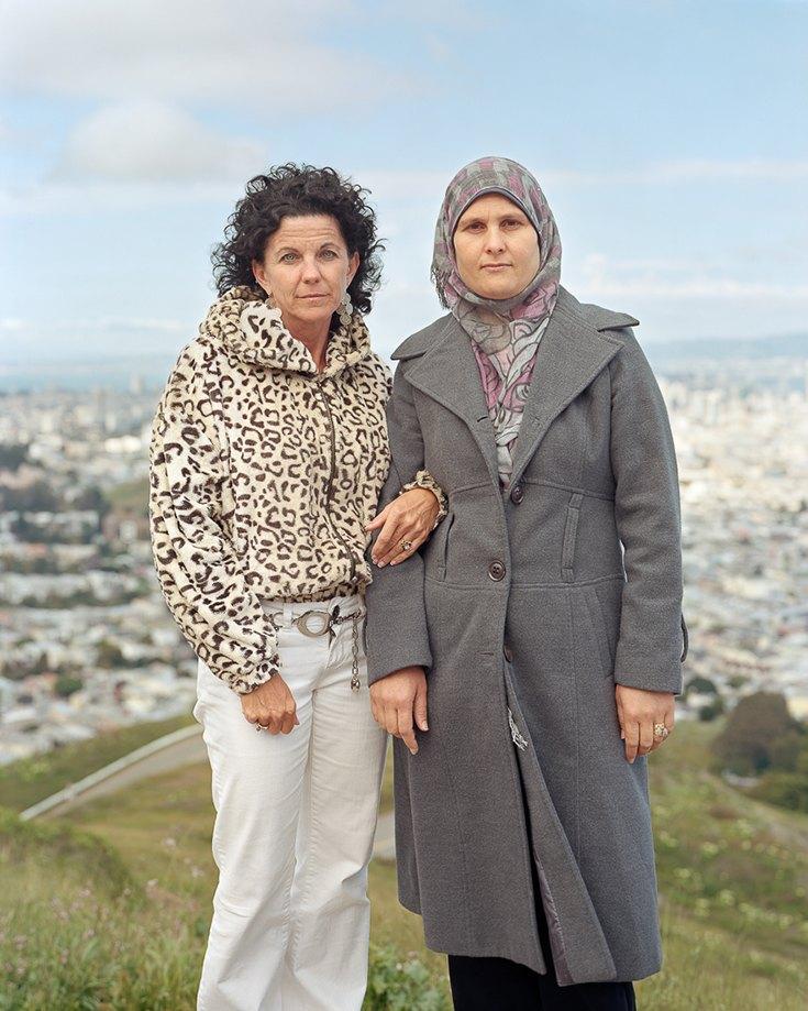 Аннали и Райка, Сан-Франциско, Калифорния, 2012.