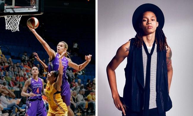 © BrittneyGriner  Звезда WNBA Бриттни Гринер (женский вариант NBA) гордится своим атлетичным т