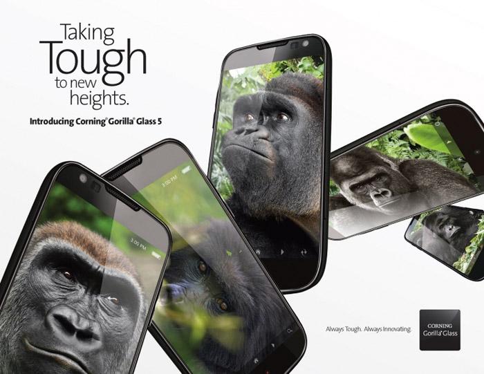 Интересно, что гаджет LG G6 защищён Gorilla Glass 5 только сзади, в то время как для передней панели