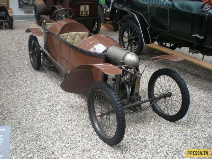 Еще один необычный автомобиль. Французскую Bedelia считают одной из основоположниц класса сайклкаров