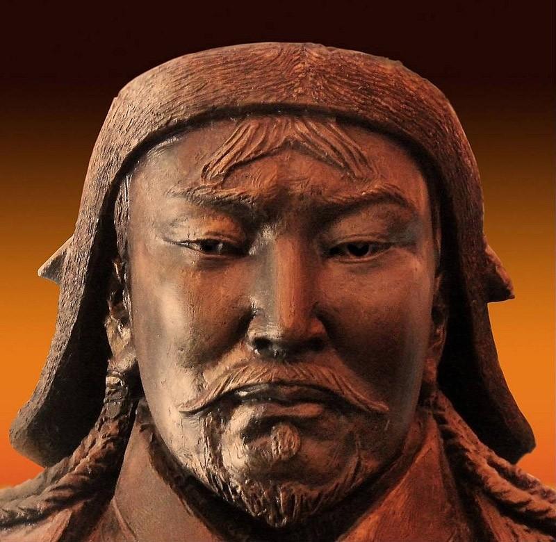 8. Чингисхан. Военачальник, который был так плодовит, что каждый двухсотый человек является его прям