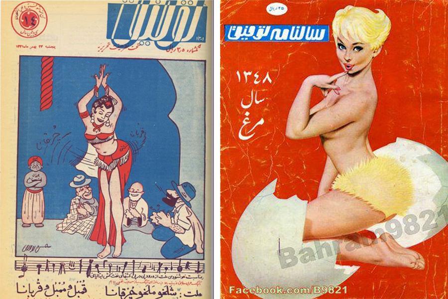 А потом была исламская революция 1979 года. Шах Мохаммед Реза, который все послевоенные годы активно