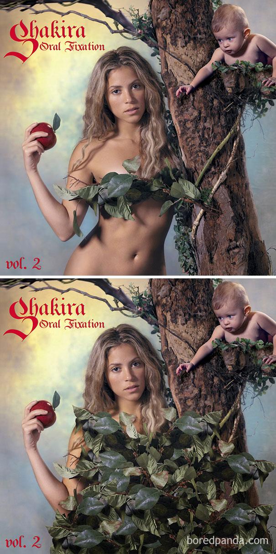 Шакира, альбом Oral Fixation.