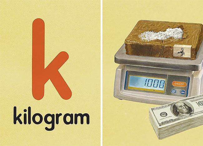 K — kilogramm (килограмм).