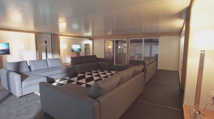 Планировку дома-гармошки можно сделать по желанию заказчика Стены внутри дома легко изменить по жела
