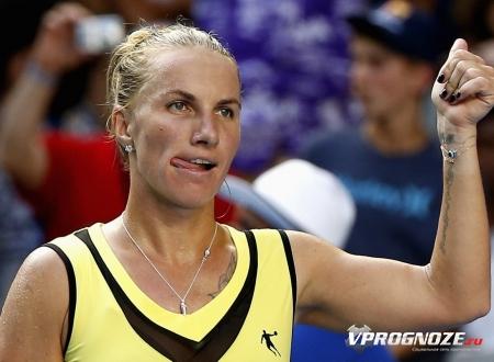 Украинка Козлова сбоем проиграла Уильямс наAustralian Open