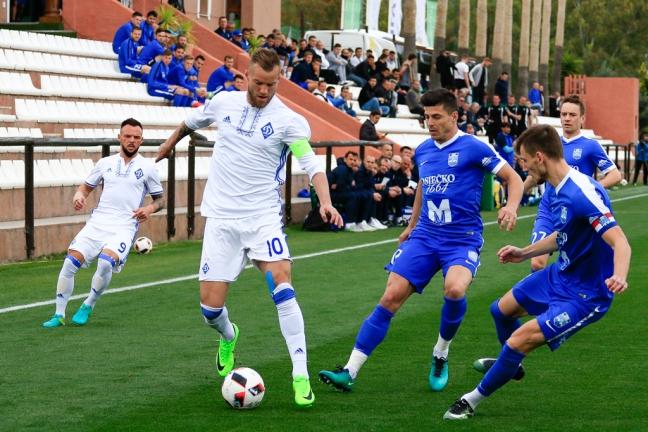 Динамо напоследних минутах вырвало победу над Осиеком