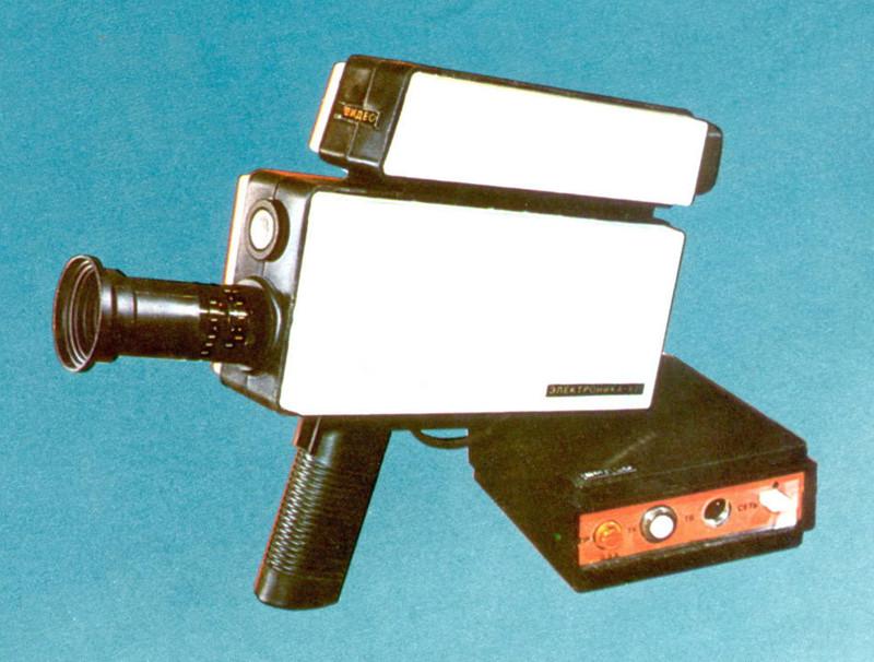 «Электроника-821» — одна из первых видеокамер для любителей, 1985 год