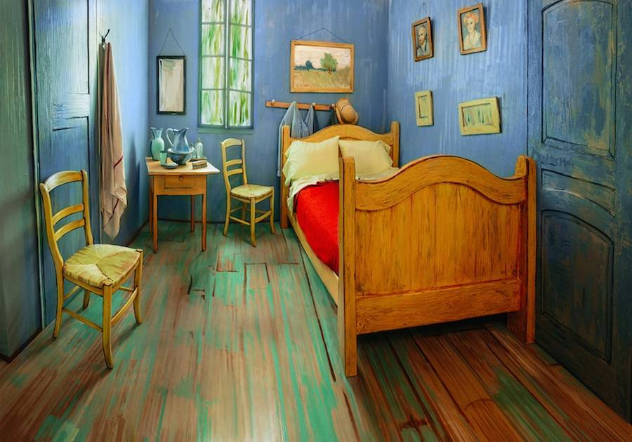 Spend the Night in Van Gogh's Bedroom with Airbnb