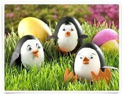 Весёлые поделки из яиц