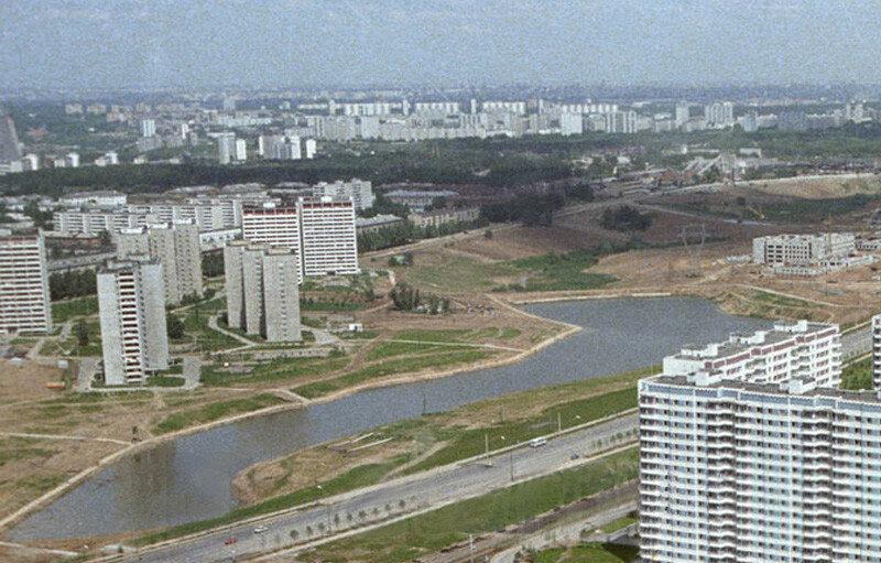 1980 Очаковский пруд. Юрий Абрамочкин.jpg
