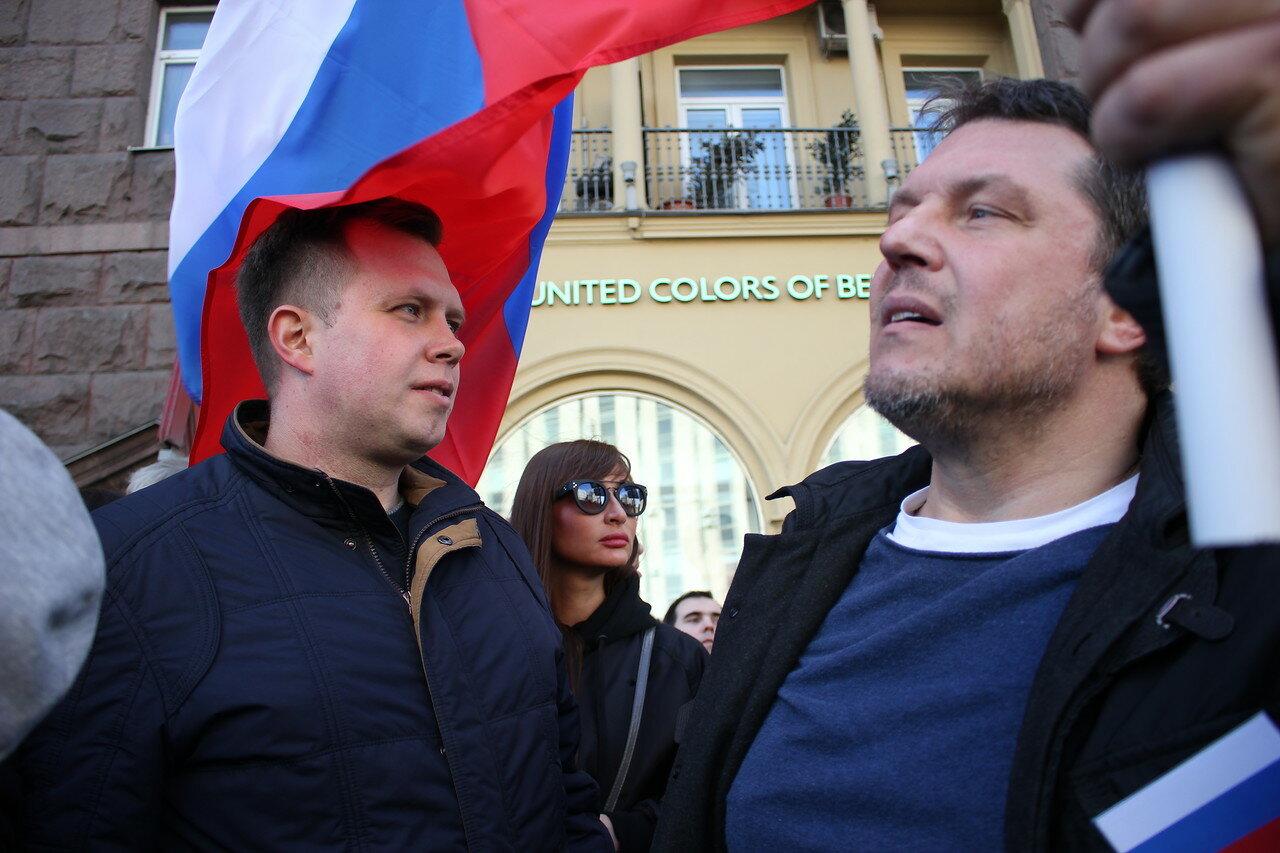 Николай Ляскин и Владимир Залищак